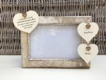 Shabby personalised Chic Photo Frame Auntie Aunty Great Aunt Any Name Etc - 332866456734